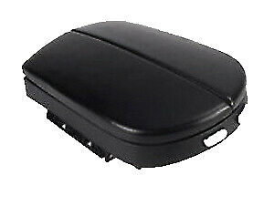 Fits 07-13 Acura MDX Black Vinyl Leather Center Console Lid Armrest Cover