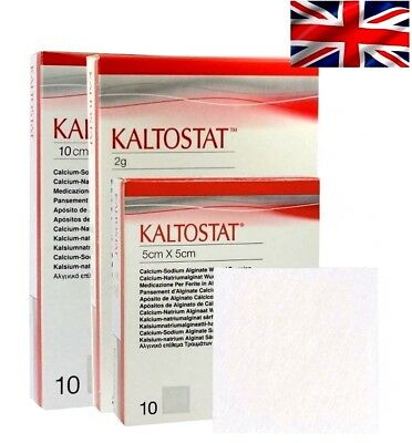 Kaltostat Sterile Alginate Haemostatic Dressing | All Sizes & Quantaties