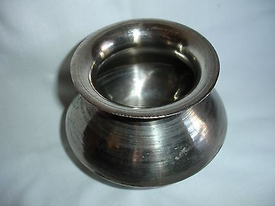 Vintage Silver Bowl From Gangtok, Sikkim India With Markings ~ 1970