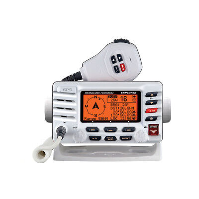 Standard Horizon Explorer GX1700W GPS Fixed Mount VHF - White [GX1700W]