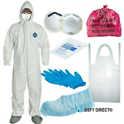 Safety Hazmat Suit, Bug Out, Virus ,Epidemic, Disasters Survival Protection Kit