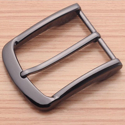 40mm Alloy Pin Single Belt Buckle for Men Leather Belt Spare Replacement