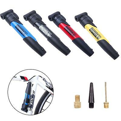 Portable Bike Hand Tire Inflator Mini Bicycle Air Pump for Road Cycling JJ