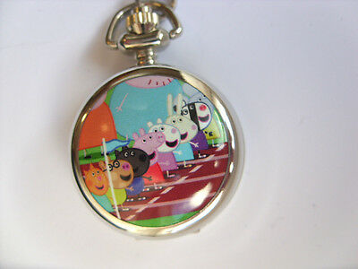 SALE  Great PEPPA PIG Coloured  Necklace Watch  SALE  d