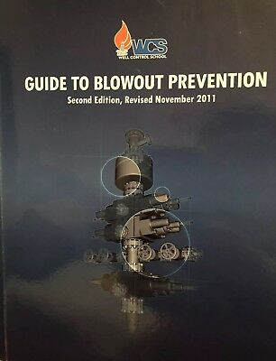 Well control school guide to blowout prevention book second edition Nov 2011