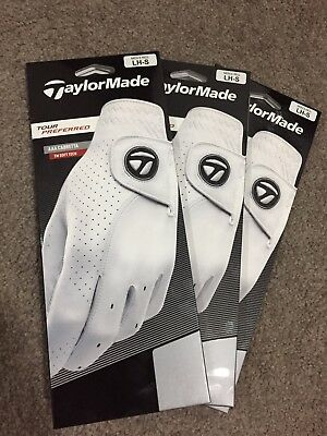 Taylormade Tour Preferred Leather Gloves X 3