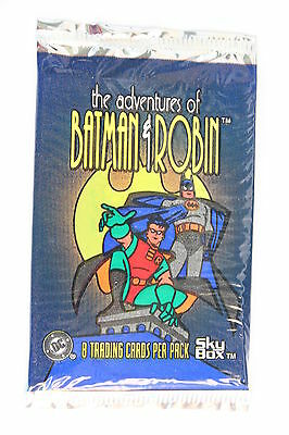 ! 1995 Adventures of Batman and Robin Trading card pack Skybox DC Comic Rare