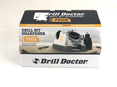 NEW Drill Doctor 750X Sharpener Advanced Tool 3/32-3/4 DD750X UPDATED 2018 MODEL