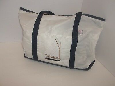 Sailcloth tote   bag $19.95 Inventory reduction ..