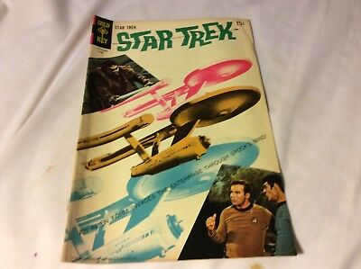 Gold Key Star Trek # 4 Fine cond. Kirk & Spock on cover ca 1968
