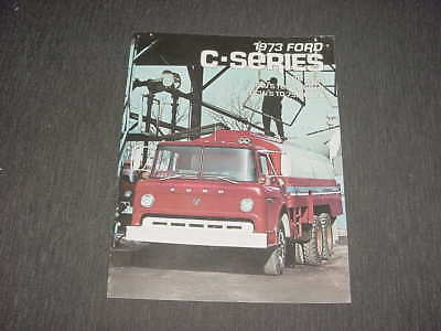 Ford C-series truck brochure 1973