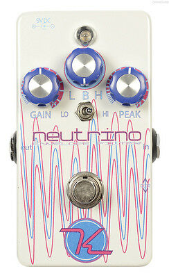 NEW KEELEY NEUTRINO ENVELOPE FILTER EFFECTS PEDAL w/ FREE CABLE FREE US SHIPPING
