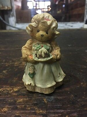 "Cherished Teddies Mrs. Cratchit "" A Beary Christmas And A  Happy New Year! """