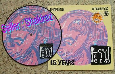 """THE LEVELLERS 15 YEARS (EP) 10"""" PICTURE RECORD SPECIAL LIMITED EDITION No: 322"""
