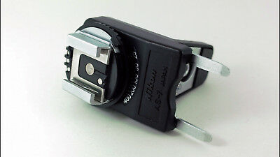 Nikon AS-7 Flash Unit Coupler for Nikon F3 Models. Fully Tested 'MINT' Condition