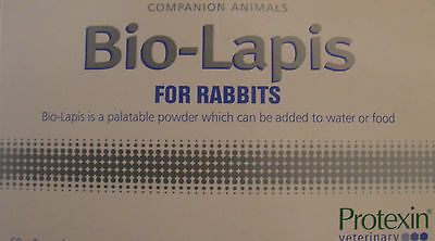 Protexin Bio-Lapis For Rabbits. 4 Or 8 X 2G Sachets Plus Free Feeder Syringe