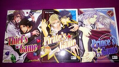 RYO TAKAGI 6 x Game Manga Butler Thief King Pirate Prince Devil YAOI