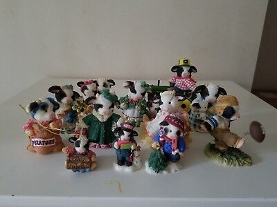 Mary's Moo Moos Lot Of 12 No Box