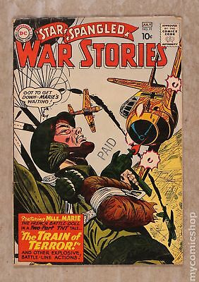 Star Spangled War Stories (DC) #3 to 204 #91 1960 VG- 3.5