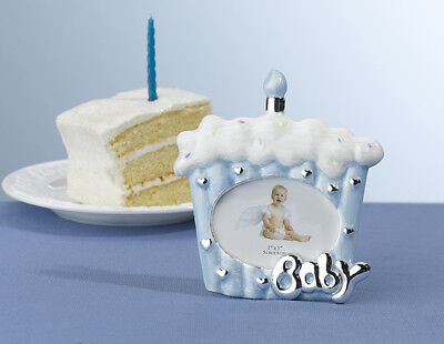 Lillian Rose Baby's 1St Birthday- Blue  Cake Photo Frame! Free Shipping!