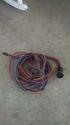 Mercruiser 9 Pin Connector Engine Wire Harness Dash To wire harness 9 pin mercruiser omc volvo crusader 9 wire $50 00 mercruiser 9 pin wiring harness at gsmx.co
