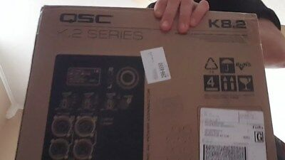 QSC K8.2 2,000W Powered 8 in. 2-way Loudspeaker Brand NEW