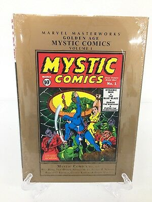 Golden Age Mystic Comics Volume 1 Collects #1-4 Marvel Masterworks HC New Sealed