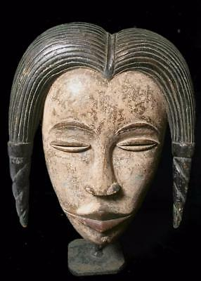 Old Tribal Anang Ceremonial Mask     -- Nigeria   BN 28