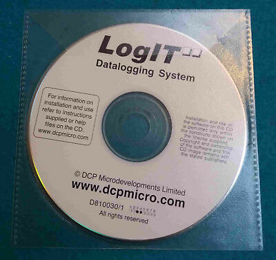 LogIT Lab Datalogging Software for Windows (original disk)