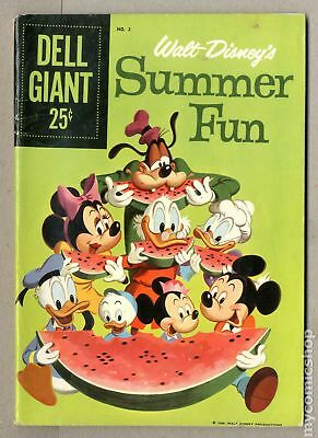 Dell Giant Summer Fun #2 1959 VG 4.0 Low Grade