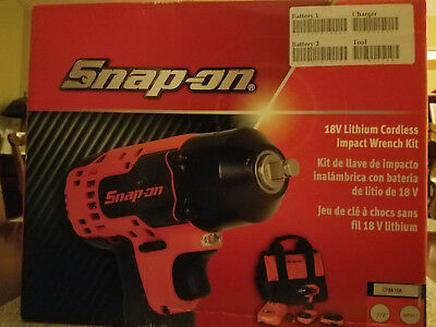 CT8815A Snap-on 18v Lithium Cordless Impact Wrench Kit