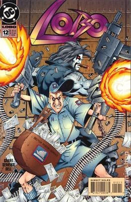 Lobo (2nd Series DC) #12 1994 FN Stock Image
