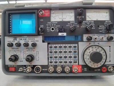 IFR  FM/AM 1200S  RF service Monitor  NOT WORKING