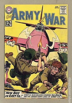Our Army at War #121 1962 GD+ 2.5