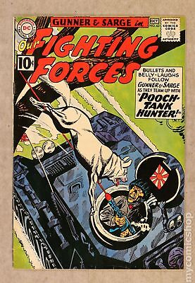 Our Fighting Forces #63 1961 VG/FN 5.0