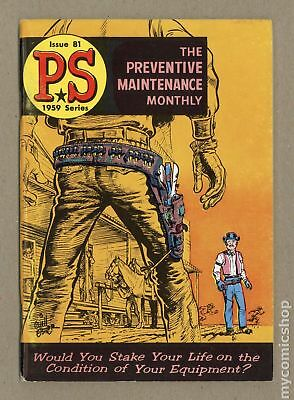 PS The Preventive Maintenance Monthly #81 1959 FN- 5.5