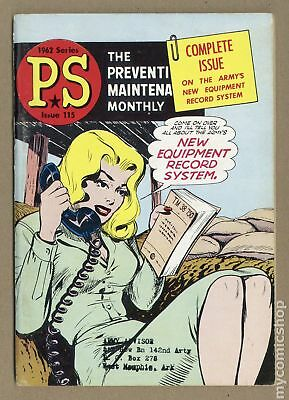 PS The Preventive Maintenance Monthly #115 1962 VG+ 4.5
