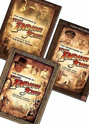 Adventures Of Young Indiana Jones Collection Vol 1-3 Dvd Box Set 31 Disc R4 New