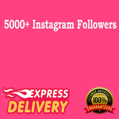 5000 Instagram Follower HQ - High Retention Real ! Instant Delivery ! Guaranteed