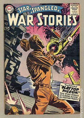 Star Spangled War Stories (DC) #3 to 204 #66 1958 VG/FN 5.0