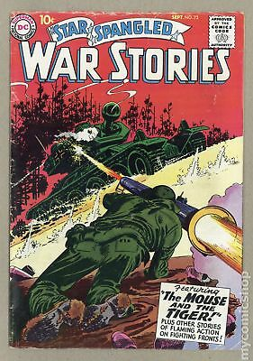 Star Spangled War Stories (DC) #3 to 204 #73 1958 VG 4.0