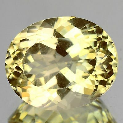 2.28 Cts Unheated Rare Yellow Color Natural Andesine Gemstones