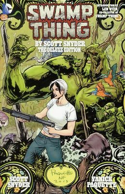 Swamp Thing HC (DC) The Deluxe Edition by Scott Snyder #1-1ST 2015 NM