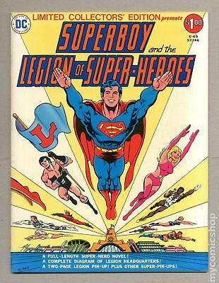 Superboy and The Legion of Super-Heroes DC Treasury Edition C-49 1976 VF 8.0