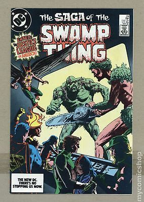 Swamp Thing (2nd Series) #24 1984 VF- 7.5