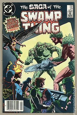 Swamp Thing (2nd Series) Mark Jewelers #24MJ 1984 FN- 5.5