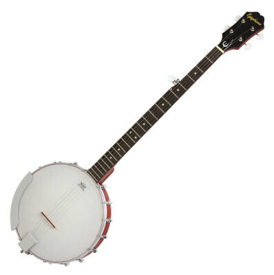 Epiphone Mb-100 Bluegrass Banjo 5-Saitig 5 String Mahagoni Remo Fell Natural