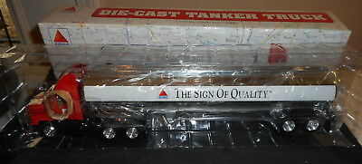 New In Box Citgo Gas Oil Semi Tanker Truck  13 1/2 Inches Long