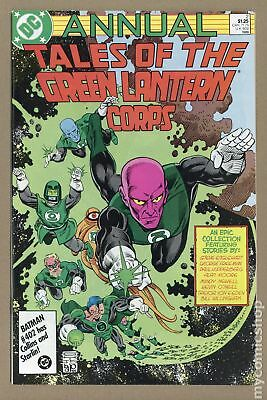 Tales of the Green Lantern Corps Annual #2 1986 VF- 7.5