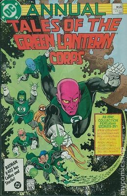 Tales of the Green Lantern Corps Annual #2 1986 VG 4.0 Stock Image Low Grade